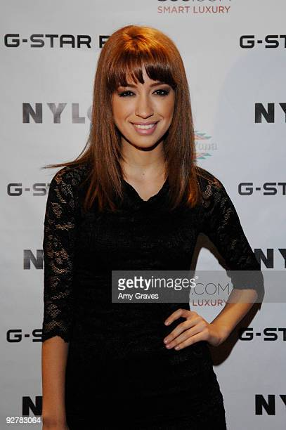 Actress Christian Serratos attends the NYLON Guys November Issue Launch Event at XIV on November 4 2009 in West Hollywood California