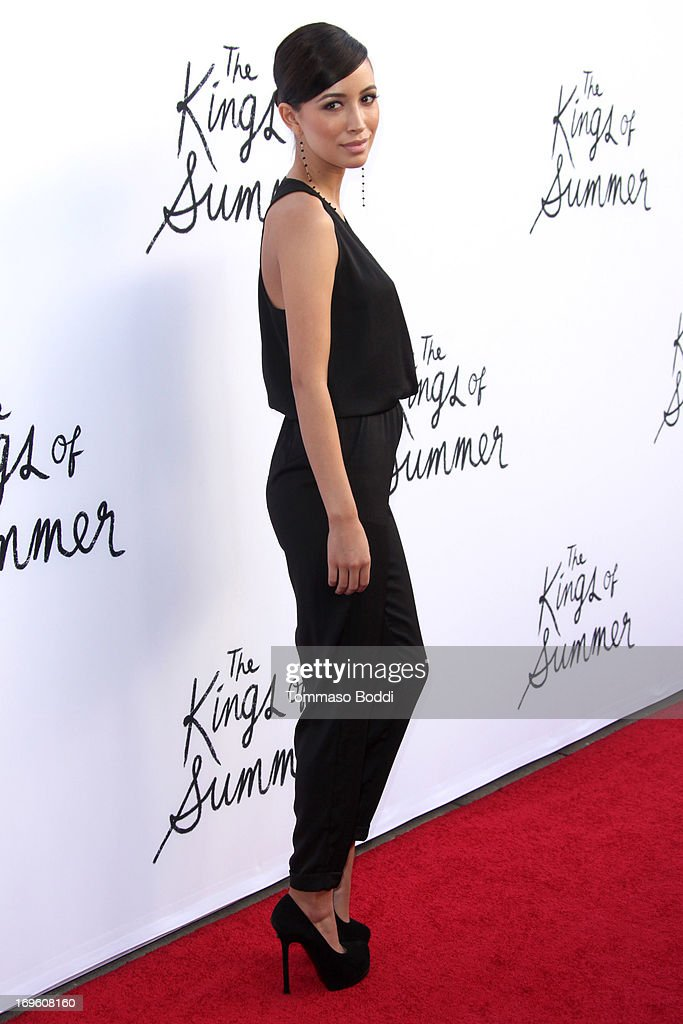 Actress Christian Serratos attends the 'The Kings Of Summer' Los Angeles premiere held at the ArcLight Hollywood on May 28, 2013 in Hollywood, California.