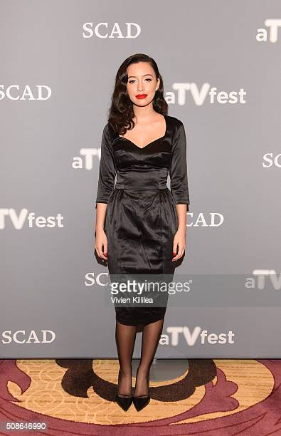 Actress Christian Serratos attends 'The Walking Dead' event during aTVfest 2016 presented by SCAD on February 5 2016 in Atlanta Georgia