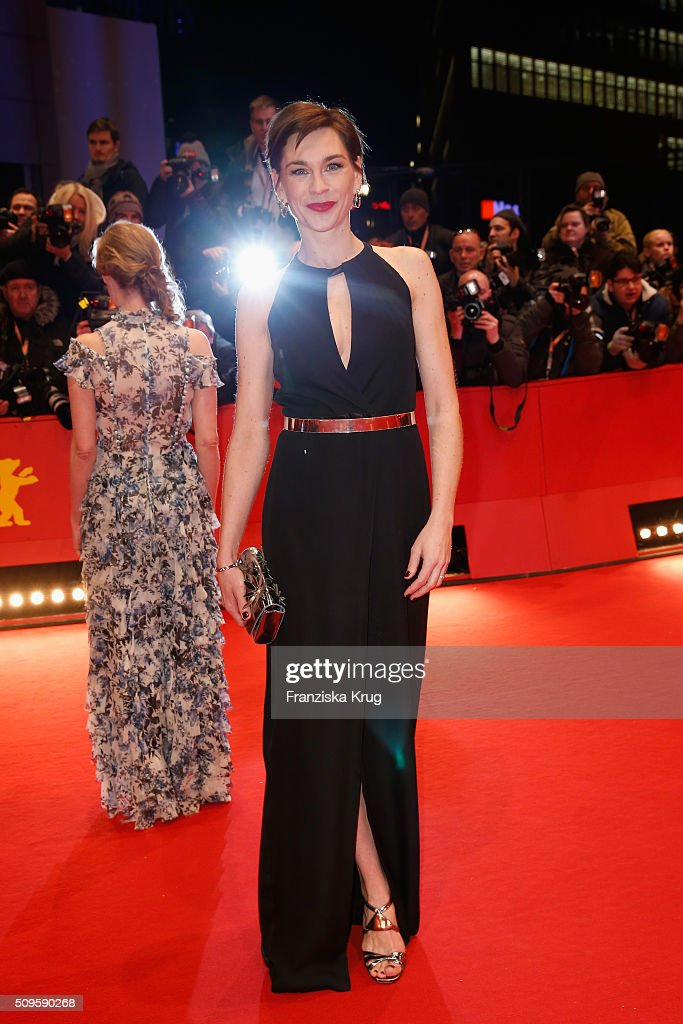 Actress <a gi-track='captionPersonalityLinkClicked' href=/galleries/search?phrase=Christiane+Paul&family=editorial&specificpeople=220598 ng-click='$event.stopPropagation()'>Christiane Paul</a> attends the 'Hail, Caesar!' premiere during the 66th Berlinale International Film Festival Berlin at Berlinale Palace on February 11, 2016 in Berlin, Germany.