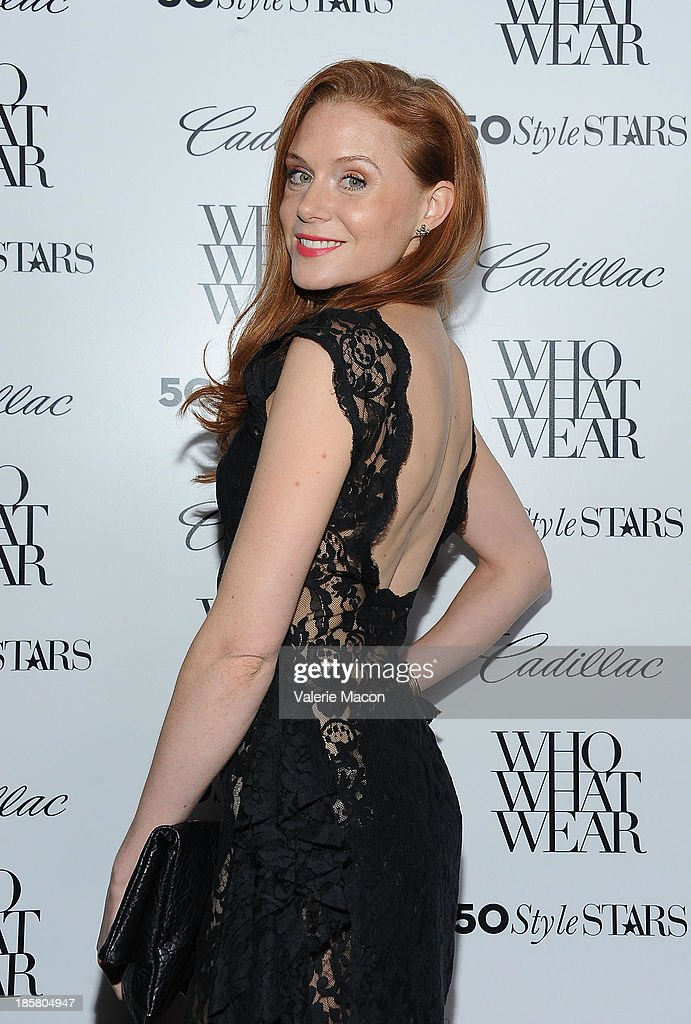 Actress Christiane Seidel arrives at the Who What Wear And Cadillac's 50 Most Fashionable Women Of 2013 Event at The London Hotel on October 24, 2013 in West Hollywood, California.