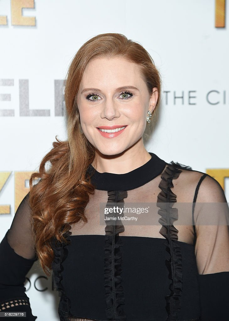 Actress Christiane Seidel attends a screening of Sony Pictures Classics' 'The Bronze' hosted by Cinema Society & SELF at Metrograph on March 17, 2016 in New York City.