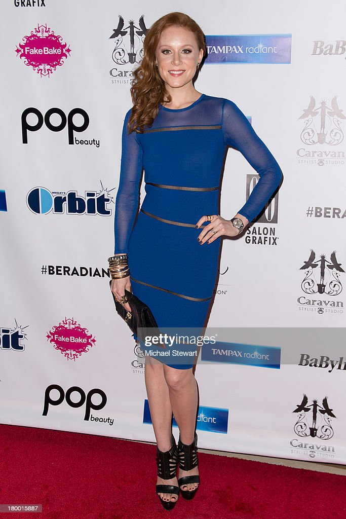 Actress Christiane Seidel attends Caravan Stylist Studio's Fashion Week Soiree at Carlton Hotel on September 7, 2013 in New York City.