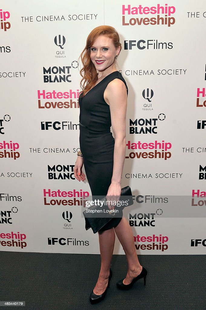Actress <a gi-track='captionPersonalityLinkClicked' href=/galleries/search?phrase=Christiane+Seidel&family=editorial&specificpeople=9696879 ng-click='$event.stopPropagation()'>Christiane Seidel</a> attends IFC Films' 'Hateship Loveship' screening hosted by The Cinema Society and Montblanc at the Museum of Modern Art on April 8, 2014 in New York City.