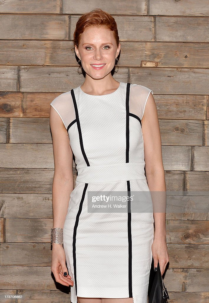 Actress Christiane Seidel attends The Cinema Society and Bally screening of Summit Entertainment's 'Red 2' after party at Refinery Hotel on July 16, 2013 in New York City.