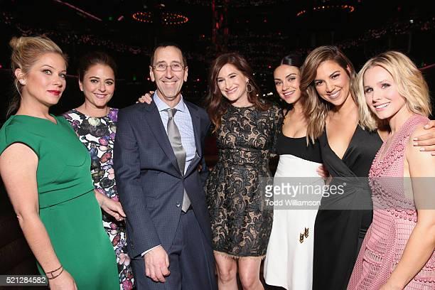 Actress Christina Applegate actress/screenwriter Annie MumoloCinemacon Managing Director Mitch Neuhauser actresses Kathryn HahnMila Kunis Television...
