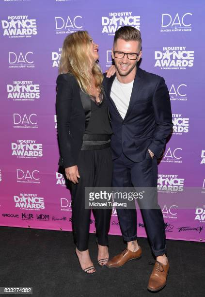 Actress Christina Applegate and Travis Wall attend the 2017 Industry Dance Awards and Cancer Benefit Show at Avalon on August 16 2017 in Hollywood...