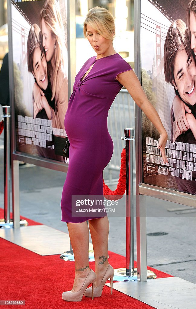 Actress Christina Applegate arrives at the premiere of Warner Bros. 'Going The Distance' held at Grauman's Chinese Theatre on August 23, 2010 in Los Angeles, California.