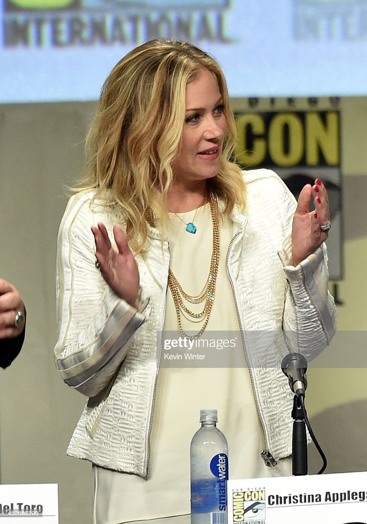 Actress Christina Applegate attends the 20th Century Fox presentation during Comic-Con International 2014 at San Diego Convention Center on July 25, 2014 in San Diego, California.