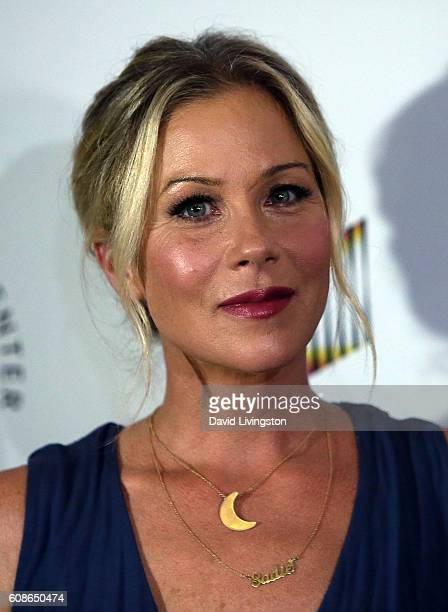 Actress Christina Applegate attends the 26th Annual Simply Shakespeare benefit at Freud Playhouse UCLA on September 19 2016 in Westwood California