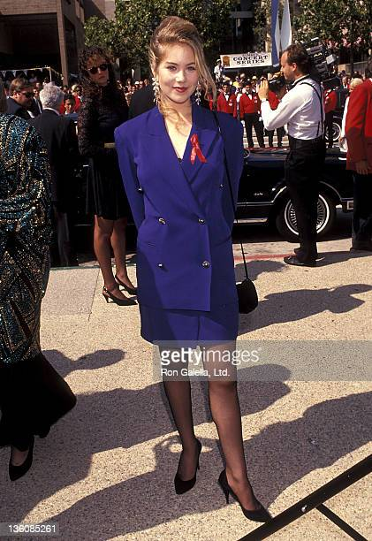 Actress Christina Applegate attends the 43rd Annual Primetime Emmy Awards on August 25 1991 at Pasadena Civic Auditorium in Pasadena California