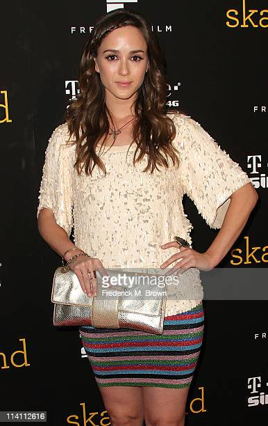 Actress Christina Bennett Lind attends the 'Skateland' film premiere at the Arclight Theater on May 11 2011 in Hollywood California