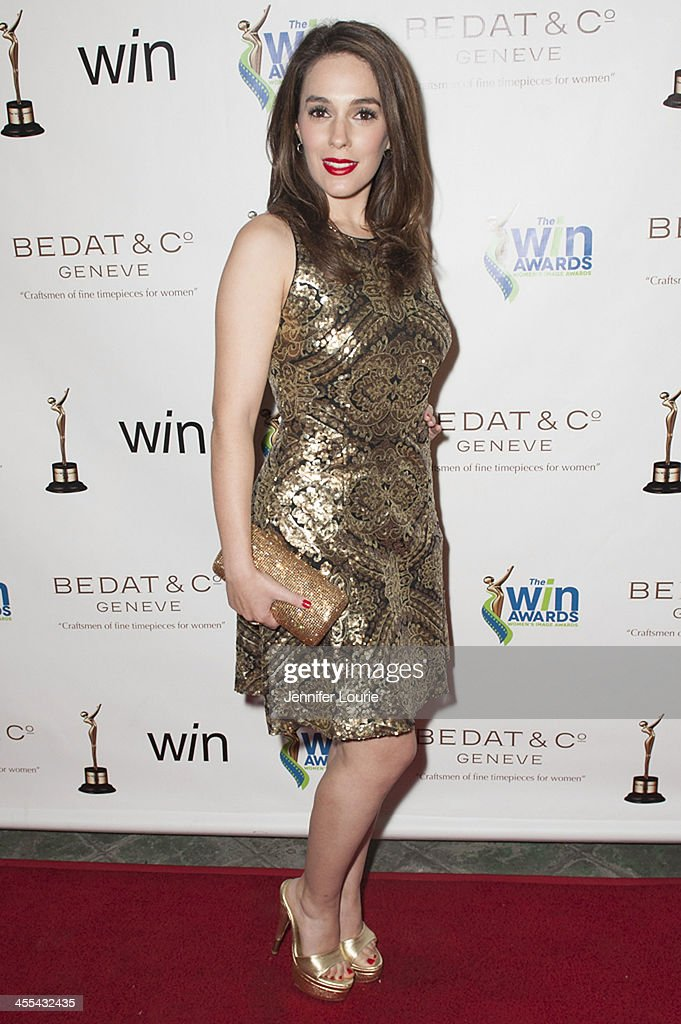 Actress Christina DeRosa arrives at the annual 2013 Women's Image Awards at Santa Monica Bay Woman's Club on December 11, 2013 in Santa Monica, California.