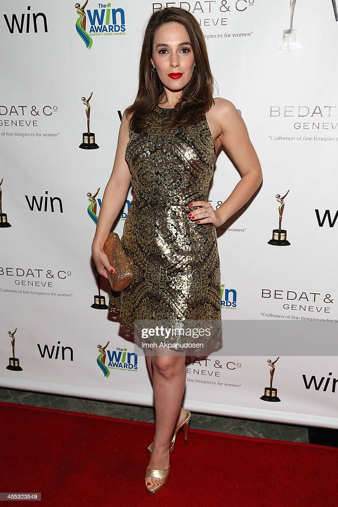 Actress <a gi-track='captionPersonalityLinkClicked' href=/galleries/search?phrase=Christina+DeRosa&family=editorial&specificpeople=546785 ng-click='$event.stopPropagation()'>Christina DeRosa</a> attends the 2013 Women's Image Awards at Santa Monica Bay Womans Club on December 11, 2013 in Santa Monica, California.