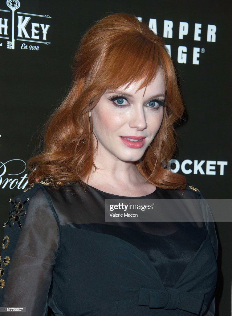 Actress <a gi-track='captionPersonalityLinkClicked' href=/galleries/search?phrase=Christina+Hendricks&family=editorial&specificpeople=2239736 ng-click='$event.stopPropagation()'>Christina Hendricks</a> arrives at the Premiere Of IFC Films' 'God's Pocket' at LACMA on May 1, 2014 in Los Angeles, California.