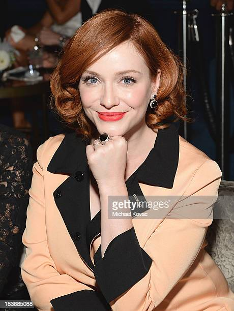 Actress Christina Hendricks attends Club Tacori 2013 at Greystone Manor Supperclub on October 8 2013 in West Hollywood California