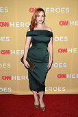 Actress Christina Hendricks attends the 2014 CNN Heroes An AllStar Tribute at the American Museum of Natural History on November 18 2014 in New York...