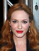 Actress Christina Hendricks attends the Buick Introduces 24 Hours of Happiness Test Drive event at Ace Museum on July 22 2015 in Los Angeles...