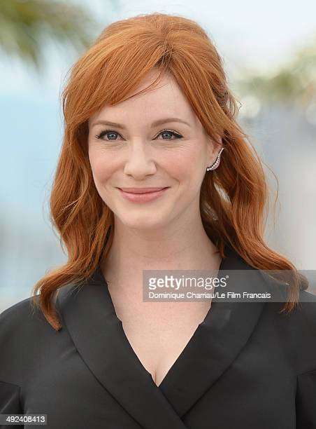 Actress Christina Hendricks attends the 'Lost River' photocall during the 67th Annual Cannes Film Festival on May 20 2014 in Cannes France
