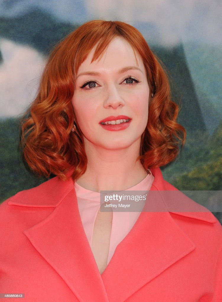 Actress <a gi-track='captionPersonalityLinkClicked' href=/galleries/search?phrase=Christina+Hendricks&family=editorial&specificpeople=2239736 ng-click='$event.stopPropagation()'>Christina Hendricks</a> attends the premiere of DisneyToon Studios' 'The Pirate Fairy' at Walt Disney Studios on March 22, 2014 in Burbank, California.