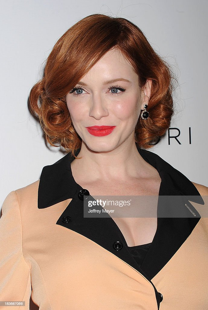 Actress Christina Hendricks attends the Tacori's Annual Club Tacori 2013 Event at Greystone Manor Supperclub on October 8, 2013 in West Hollywood,