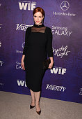 Actress Christina Hendricks attends Variety and Women in Film Annual PreEmmy Celebration at Gracias Madre on August 23 2014 in West Hollywood...