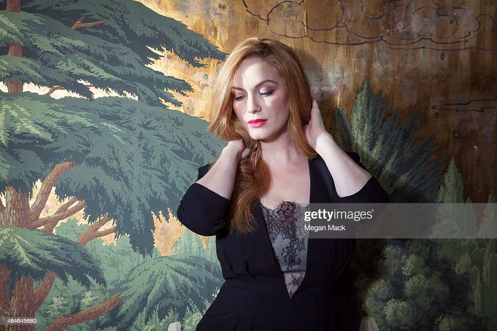Christina Hendricks, The Wrap, August 17, 2015