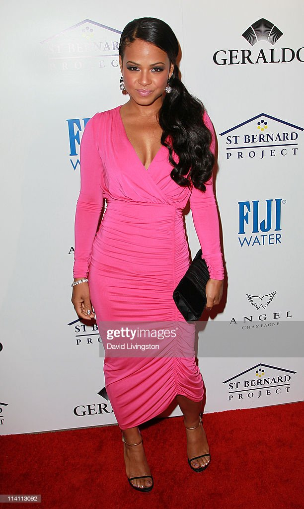 Actress Christina Milian attends An Evening of 'Southern Style' presented by the St. Bernard Project & the Spears family at a private residence on May 11, 2011 in Beverly Hills, California.