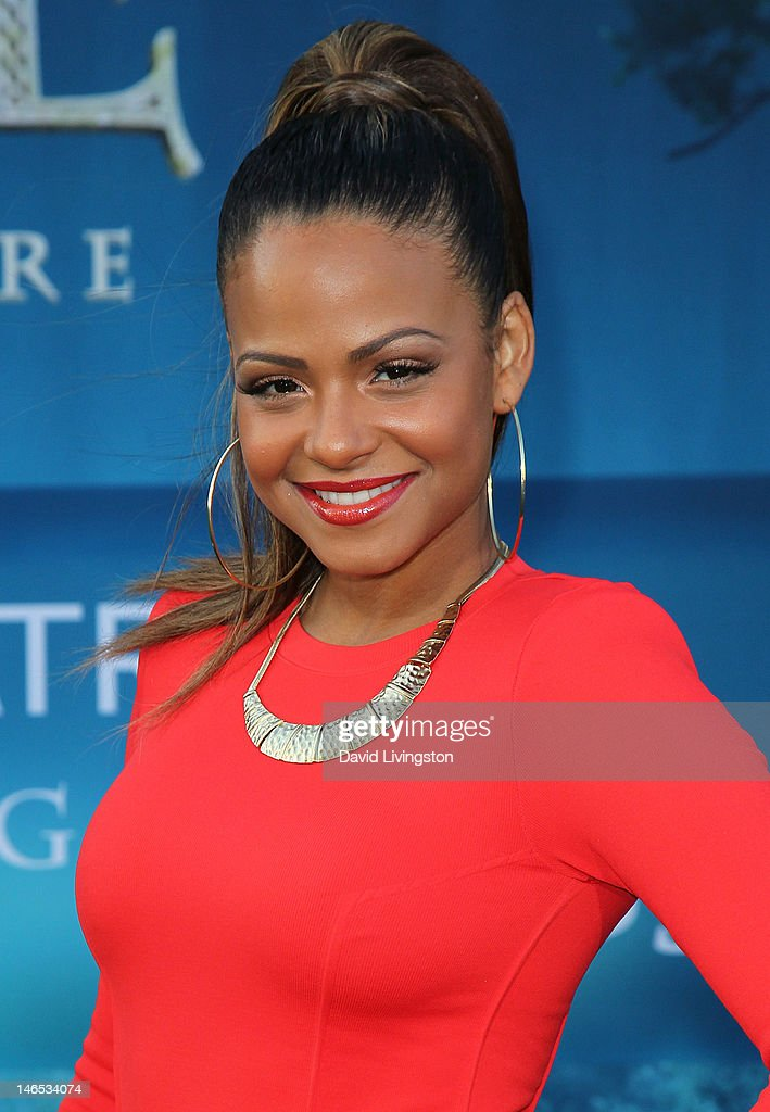 Actress Christina Milian attends Film Independent's 2012 Los Angeles Film Festival premiere of Disney Pixar's 'Brave' at the Dolby Theatre on June 18, 2012 in Hollywood, California.