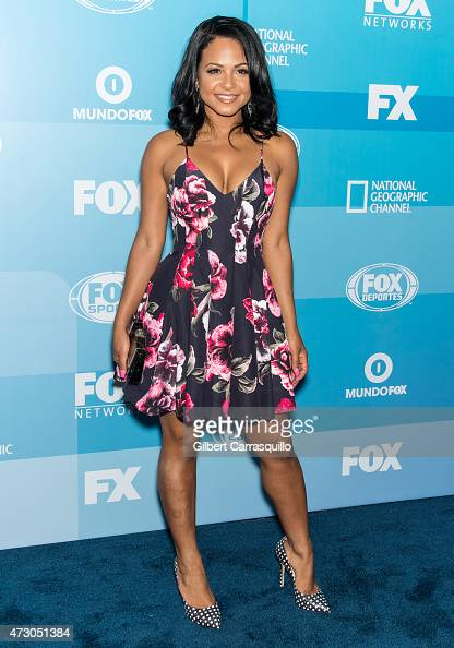 Actress Christina Milian attends the 2015 FOX Programming Presentation at Wollman Rink Central Park on May 11 2015 in New York City