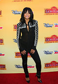 Actress Christina Milian attends the premiere of Disney Channel's 'The Lion Guard Return Of The Roar' at Walt Disney Studios on November 14 2015 in...