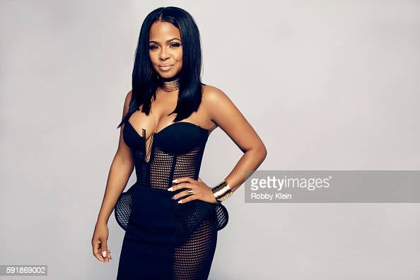 Actress Christina Milian from FOX's 'The Rocky Horror Picture Show' poses for a portrait at the FOX Summer TCA Press Tour at Soho House on August 9...
