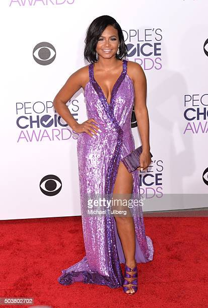 Actress Christina Millian attends the 2016 People's Choice Awards at Microsoft Theater on January 6 2016 in Los Angeles California