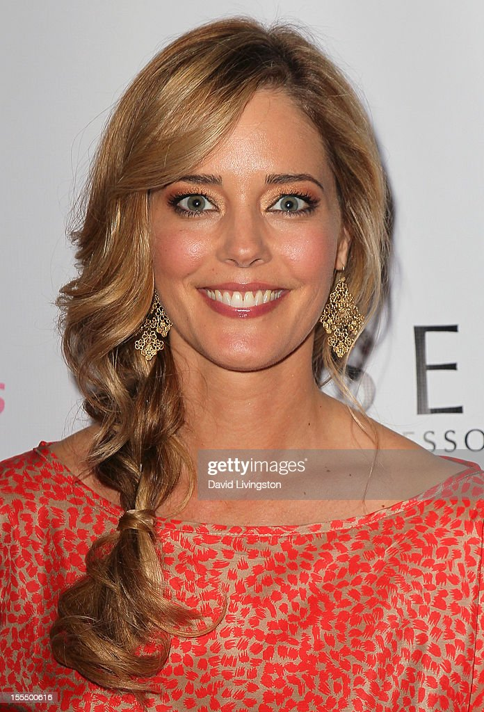 Actress Christina Moore attends the 2nd Annual Inspiration Awards to benefit The Susan G. Komen For The Cure at Royce Hall, UCLA on November 4, 2012 in Westwood, California.