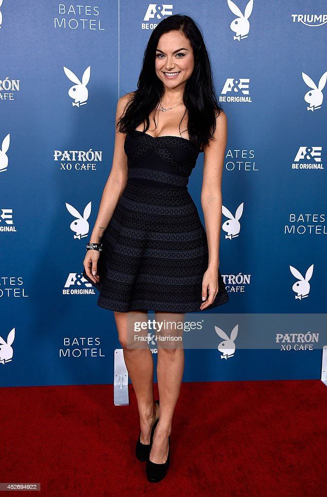 Actress Christina Ochoa attends Playboy and A&E 'Bates Motel' Event during Comic-Con International 2014 on July 25, 2014 in San Diego, California.