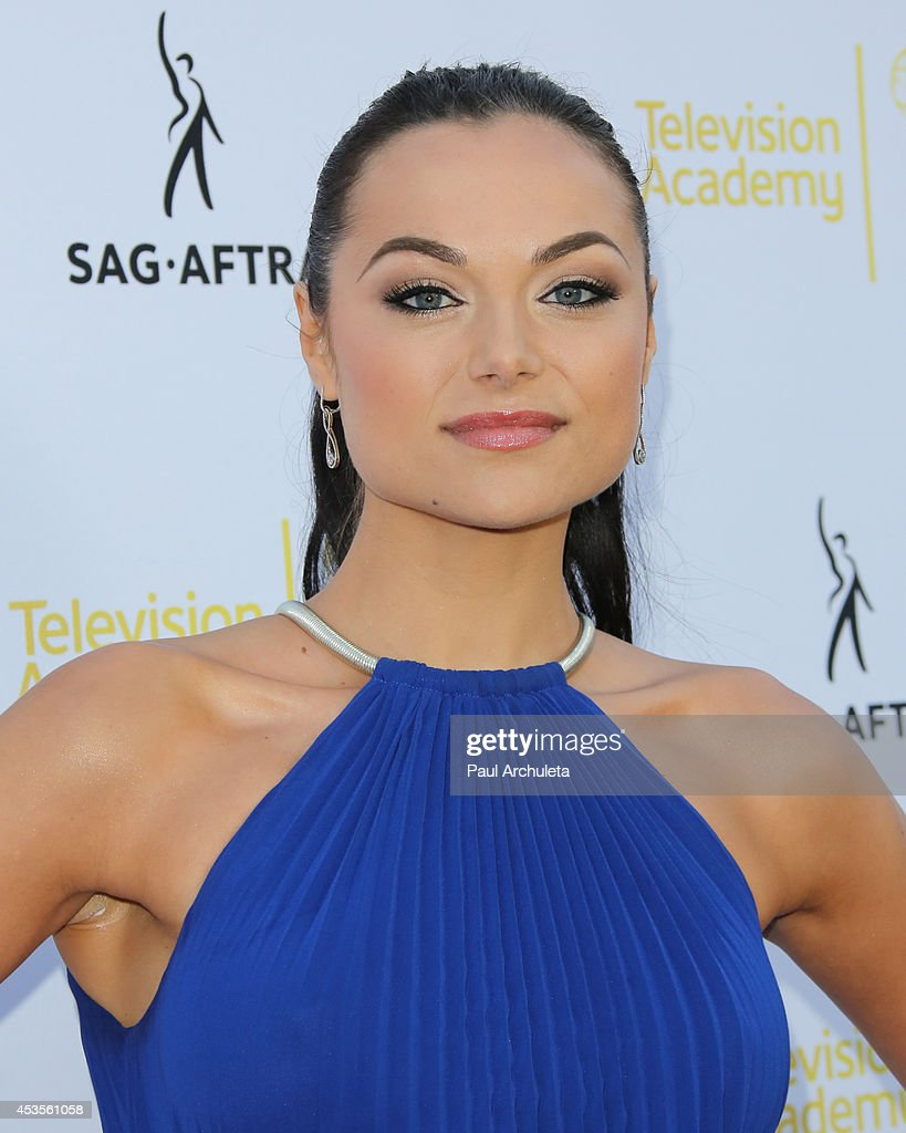 Actress Christina Ochoa attends the Television Academy and SAG-AFTRA's presentation of Dynamic and Diverse: A 66th Emmy Awards celebration of Diversity at Leonard H. Goldenson Theatre on August 12, 2014 in North Hollywood, California.
