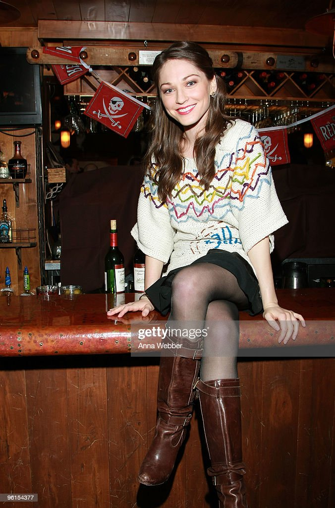 Actress Christina Prousalis attends 'The Violent Kind' party hosted by Gersh Agency at The Spur on January 24, 2010 in Park City, Utah.