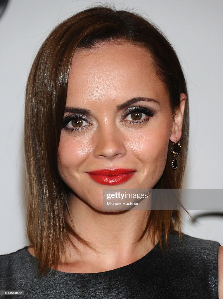 Actress <a gi-track='captionPersonalityLinkClicked' href=/galleries/search?phrase=Christina+Ricci&family=editorial&specificpeople=239510 ng-click='$event.stopPropagation()'>Christina Ricci</a> arrives at the Disney ABC Television Group's 'TCA 2001 Summer Press Tour' at the Beverly Hilton Hotel on August 7, 2011 in Beverly Hills, California.