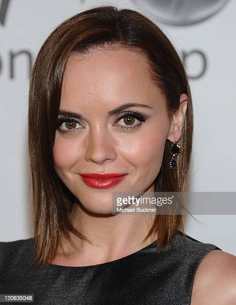 Actress Christina Ricci arrives at the Disney ABC Television Group's 'TCA 2001 Summer Press Tour' at the Beverly Hilton Hotel on August 7 2011 in...