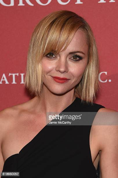 Actress Christina Ricci attends 2016 Fashion Group International Night Of Stars Gala at Cipriani Wall Street on October 27 2016 in New York City