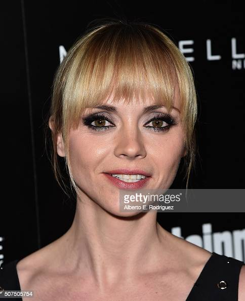 Actress Christina Ricci attends Entertainment Weekly's celebration honoring THe Screen Actors Guild presented by Maybeline at Chateau Marmont on...