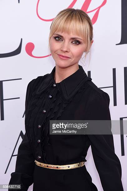 Actress Christina Ricci attends the 2016 CFDA Fashion Awards at the Hammerstein Ballroom on June 6 2016 in New York City