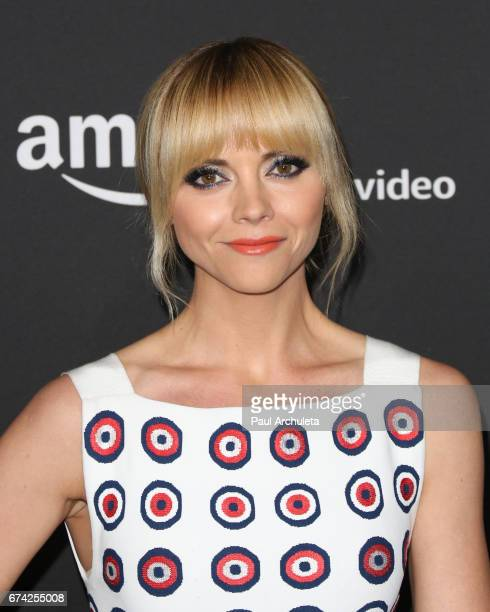 Actress Christina Ricci attends the Emmy FYC screening for Amazon's 'Z The Beginning Of Everything' at Hollywood Athletic Club on April 27 2017 in...