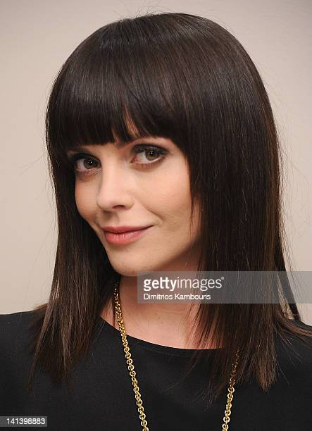 Actress Christina Ricci attends the Maiyet launch celebration at Barneys New York on March 15 2012 in New York City