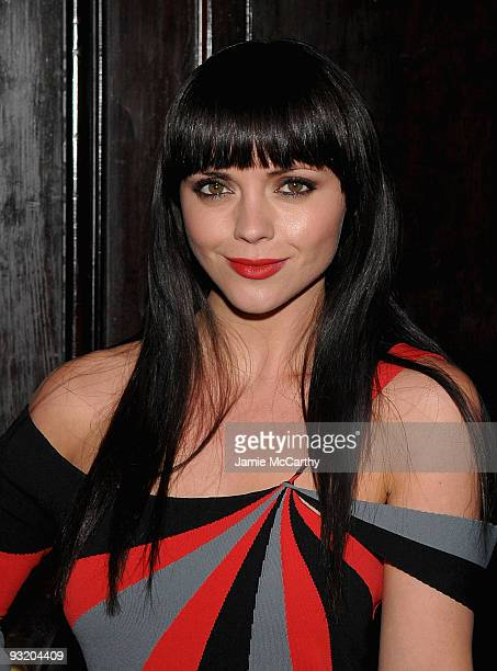 Actress Christina Ricci attends the NAC's medal of honor for film award presentation at The National Arts Club on November 18 2009 in New York City