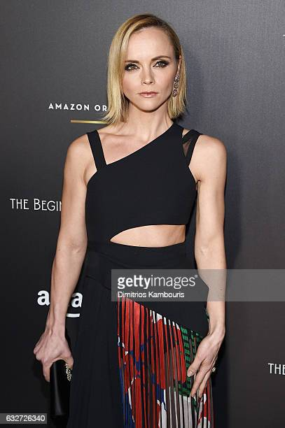 Actress Christina Ricci attends the premiere event for Amazon Prime Video's Z THE BEGINNING OF EVERYTHING on January 25 2017 in New York City