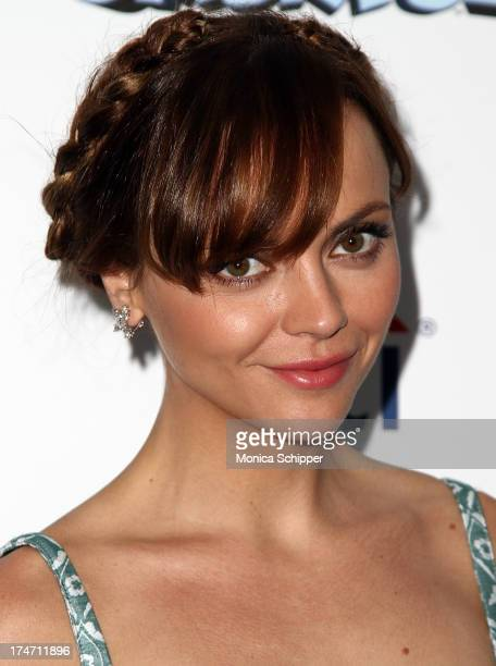 Actress Christina Ricci attends 'The Smurfs 2' New York Blue Carpet Screening at Lighthouse International Theater on July 28 2013 in New York City