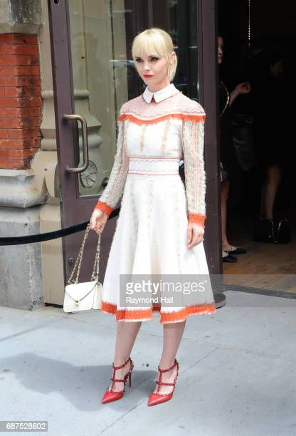 Actress Christina Ricci is seen in NoHo on May 23 2017 in New York City