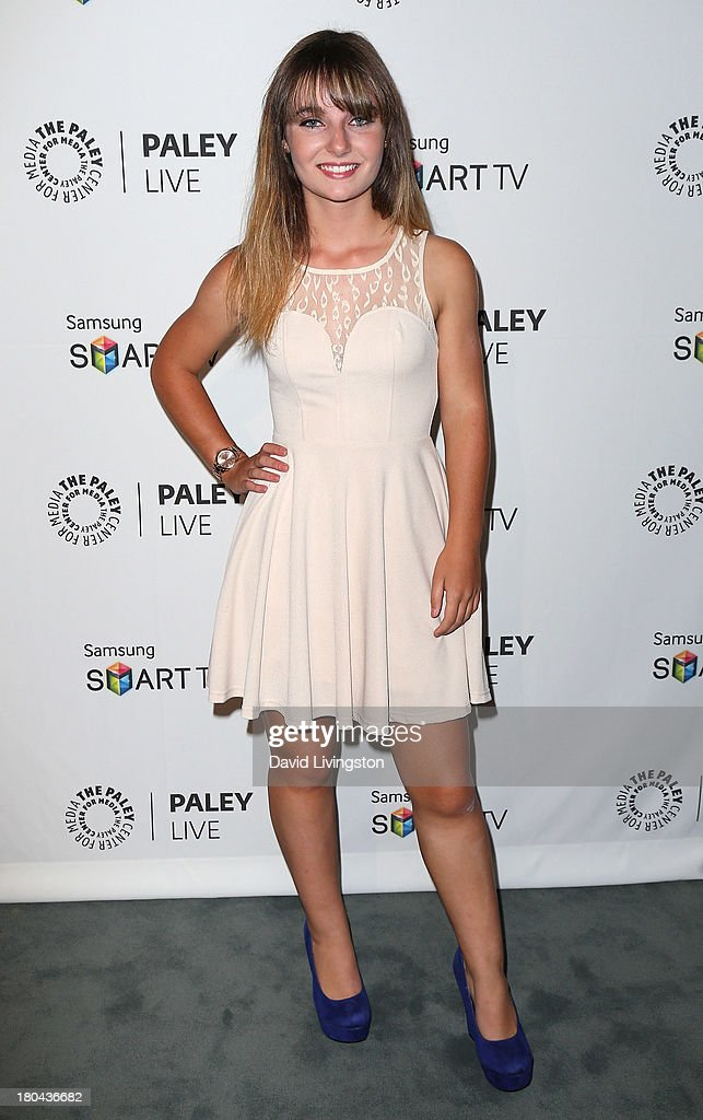 Actress Christina Robinson attends PaleyFestPreviews: Fall TV - Fall Farewell: 'Dexter' at The Paley Center for Media on September 12, 2013 in Beverly Hills, California.