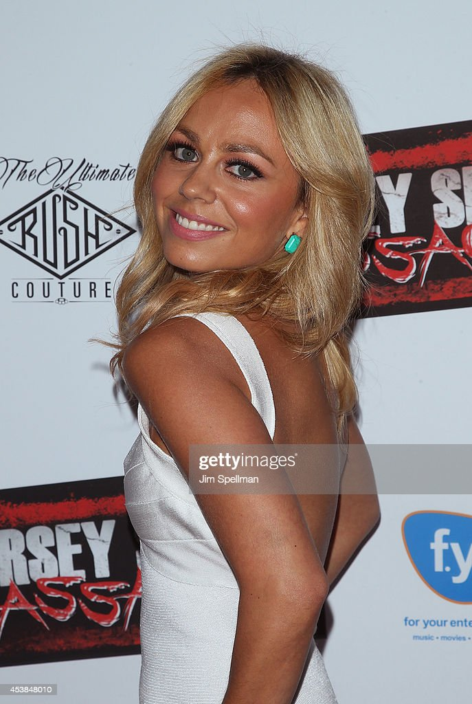 Actress Christina Scaglione attends the 'Jersey Shore Massacre' New York Premiere at AMC Lincoln Square Theater on August 19, 2014 in New York City.
